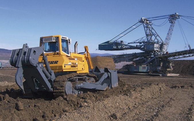 Tractor-bulldozer