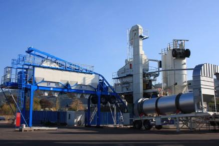 Les fondations mobiles font partie du périmètre de livraison, ce qui fait de l'usine routière une option particulièrement flexible.